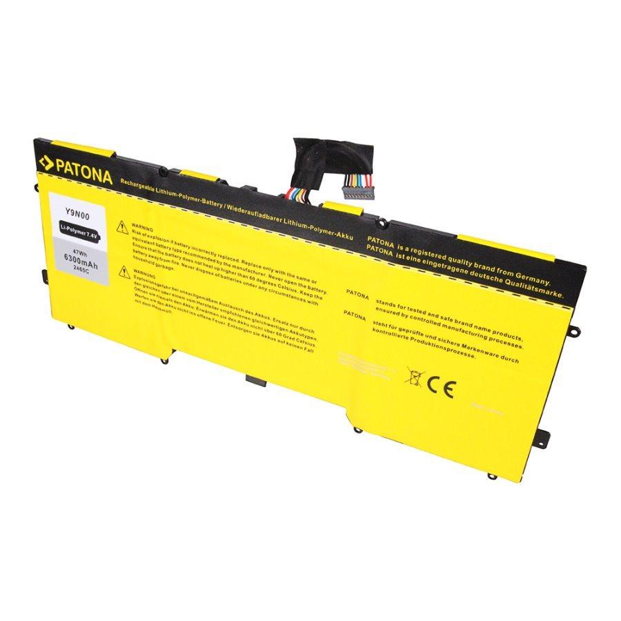Baterie PATONA pro notebook DELL XPS 13 6300mAh Baterie, pro notebook DELL XPS 13, XPS 12, 6300mAh, Li-pol, 7,4V PT2465