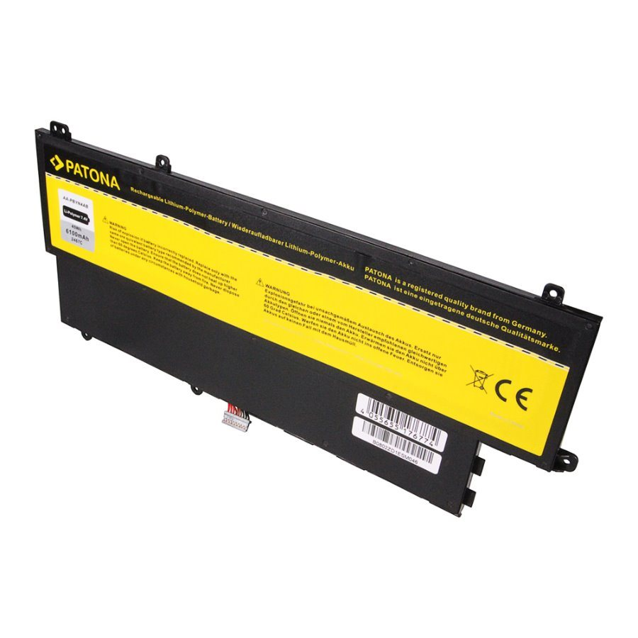 Baterie PATONA pro notebook SAMSUNG NP530U 6100mAh Baterie, pro notebook SAMSUNG NP530U, 6100mAh, Li-pol, 7,4V PT2467