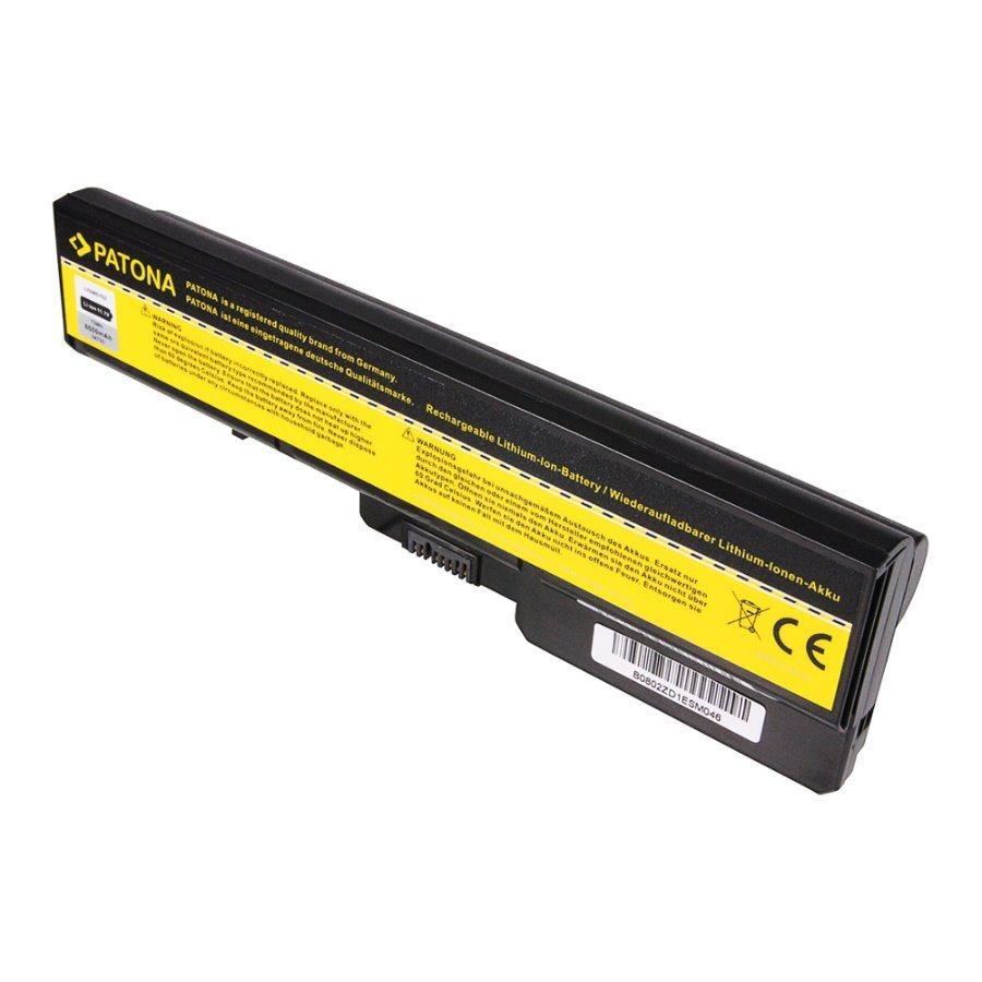 Baterie PATONA pro notebook LENOVO IdeaPad G560 Baterie, pro notebook LENOVO IdeaPad G560, 6600mAh, Li-Ion, 11,1V PT2473