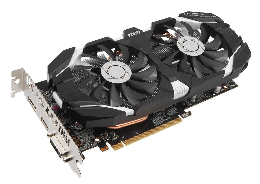 Grafická karta MSI GeForce GTX 1060 6GT OCV1 Grafická karta, PCI-E, 6 GB DDR5, HDMI, DP, DVI, VR Ready GTX 1060 6GT OCV1