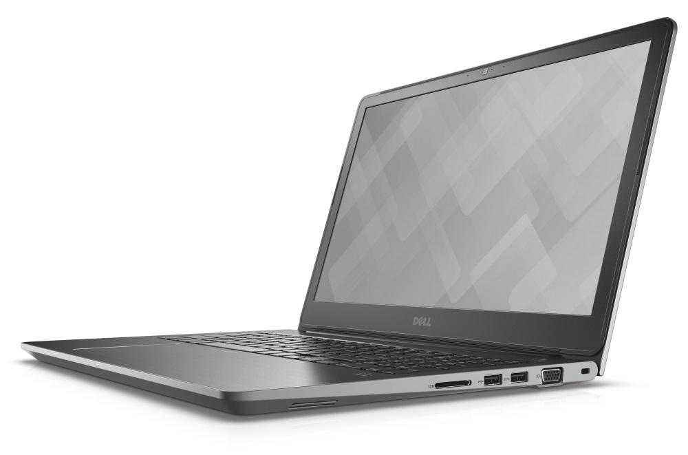 Notebook DELL Vostro 15 5568 Notebook, i5-7200U, 8 GB, 256 GB SSD, nVidia GeForce GTX 940MX 2 GB, 15.6 FHD, W10Pro, 3YNBD on-site, šedý 5568-6809