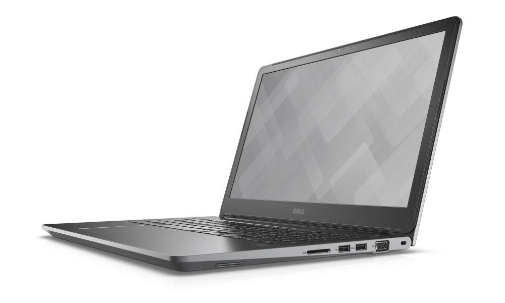 Notebook DELL Vostro 15 5568 Notebook, i7-7500U, 8 GB, 1 TB, nVidia GeForce 940MX 4 GB, 15.6 FHD, W10Pro, 3YNBD on-site, šedý 5568-6786