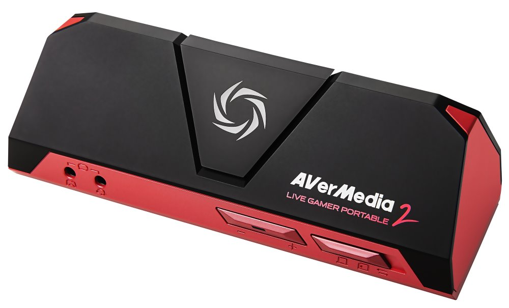 Záznamové zařízení AVERMEDIA Live Gamer Portable Záznamové zařízení, 1080p, USB 2.0, HDMI, 3,5 mm, microSD slot 61GC5100A0AB
