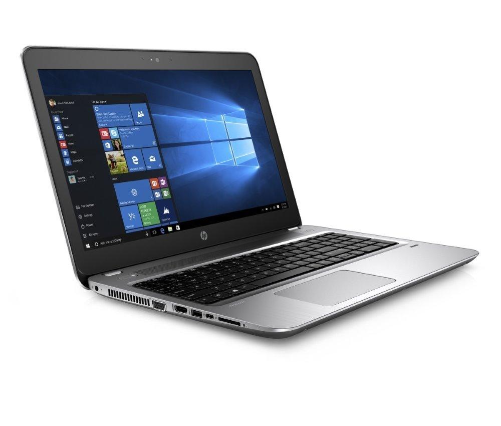 Notebook HP ProBook 450 G4 Notebook, 15,6 FHD, i5-7200U, 8GB, 256GB SSD + 2,5 slot pro HDD, DVDRW, WiFi, BT, Win 10 Pro Z2Y44ESBCM