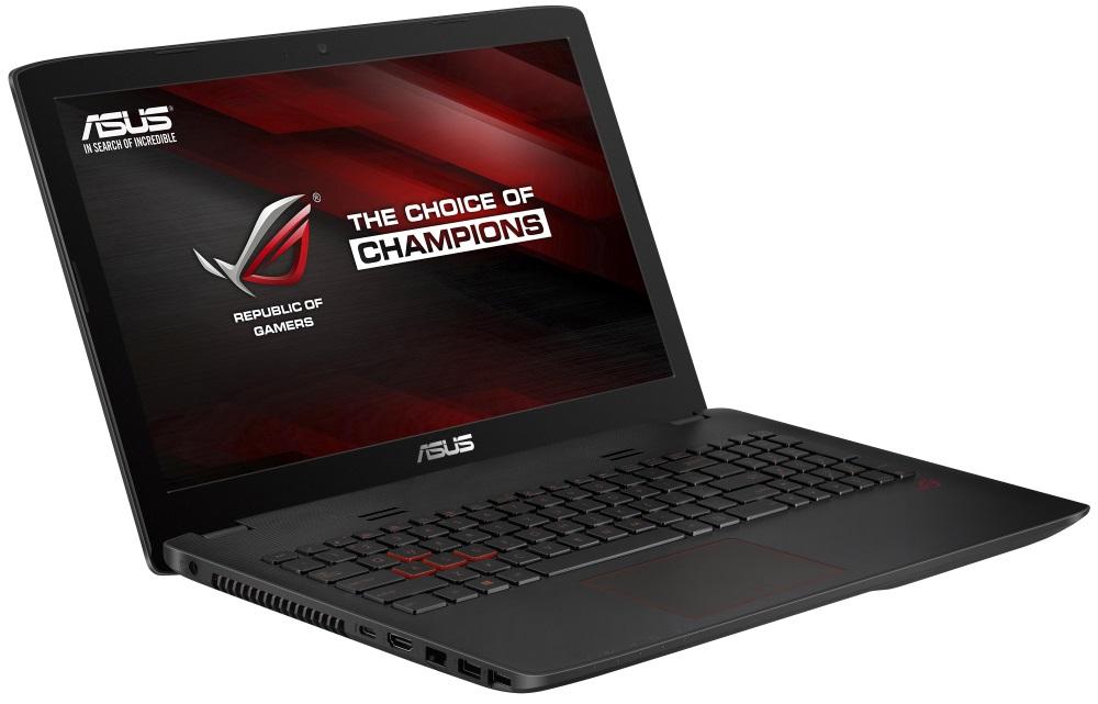 Notebook ASUS ROG GL552VX-CN117T Notebook, i5-6300HQ, 8 GB, 1 TB-5400 + 128GB SSD, 15,6 FHD IPS, GTX 950M 4 GB, DVD-RW, W10, černý GL552VX-CN117T