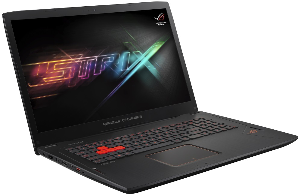 Notebook ASUS ROG Strix GL702VT-GC024T Notebook, i7-6700HQ, 16 GB, 1 TB-7200 + SSD 512 GB, 17,3 FHD IPS, GTX 970M 3 GB, W10, černý GL702VT-GC024T