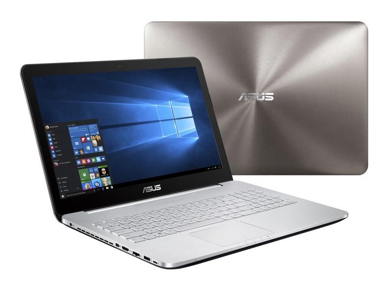 Notebook ASUS N552VX-FI035T Notebook, i7-6700HQ, 8GB, 1TB-5400 + 128GB SSD, 15,6 UHD4K IPS, DVD-RW, GTX950M 2GB, W10 Home, šedý N552VX-FI035T