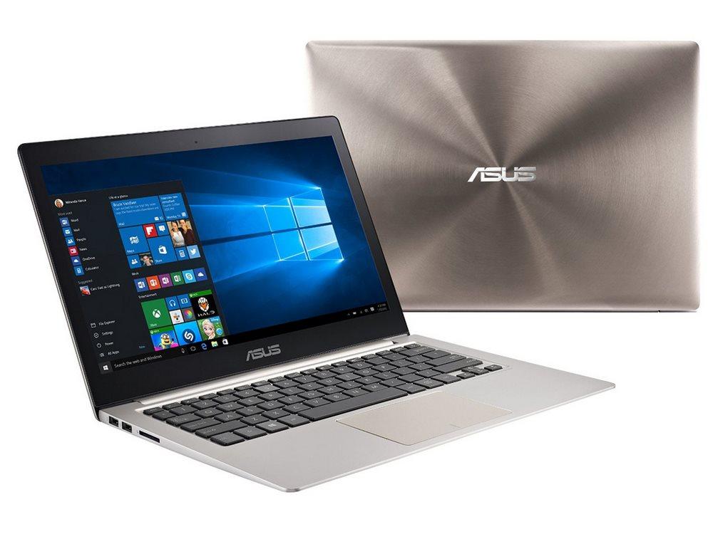 Ultrabook ASUS ZenBook UX303UA-R4129E Ultrabook, i5-6200U, 8GB, 256GB SSD, 13,3 FHD IPS, Intel HD Graphics, W7P+W10P, kouřově hnědý UX303UA-R4129E