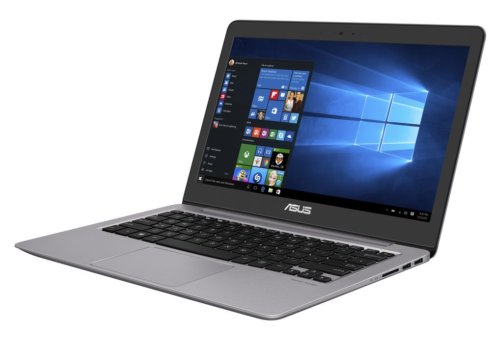 Ultrabook ASUS ZenBook UX310UQ-GL002R Ultrabook, i5-6200U, 8GB, 1TB-5400 + 128GB SSD, 13,3 FHD, GT940MX 2GB, W10P, šedý UX310UQ-GL002R