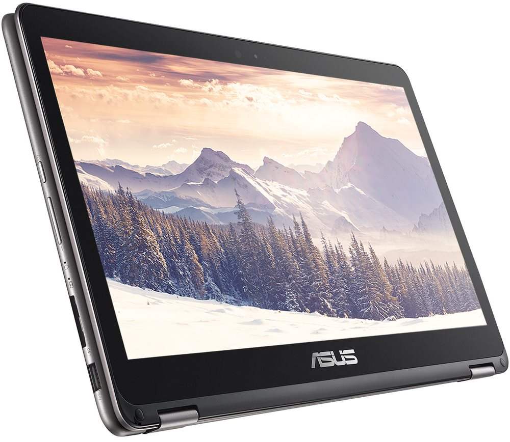 Ultrabook ASUS ZenBook UX360CA-C4080T Ultrabook, M3-6Y30, 4GB, 512GB SSD, 13,3 FHD IPS Touch, Intel HD Graphics, W10, šedý UX360CA-C4080T