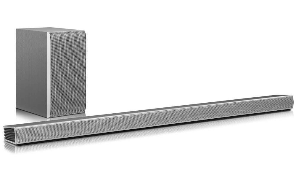 Sound bar LG SH7 Sound bar, s bezdrátovým subwooferem, 4.1ch, 360 W, BT, WIFI, Dolby Digital DTS, SH7