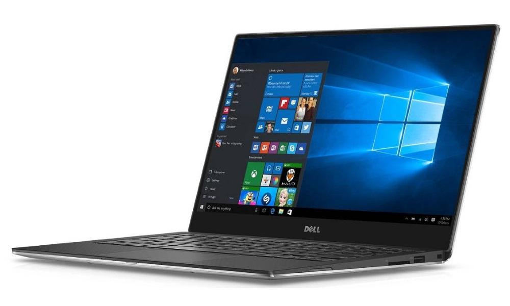 """Notebook Dell XPS 13 Touch Notebook, i5-7200U, 8GB, 256GB SSD, 13,3"""" QHD+ dotykový, W10 Home, stříbrný, 2YNBD on-site"""