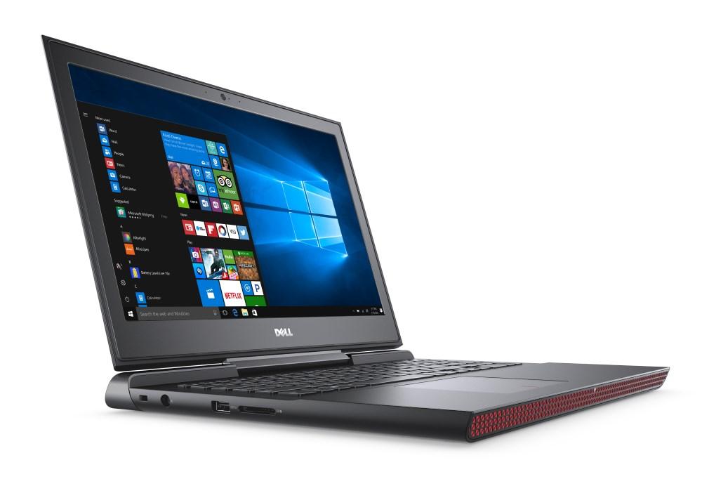Notebook DELL Inspiron 15 7000 Notebook, i7-6700HQ, 8GB, 128GB SSD + 500GB, nVidia GTX 960M 4GB, 15.6 FHD, W10, 2YNBD on-site N-7566-N2-711K