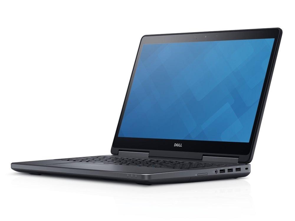 Notebook DELL Precision M7510 Notebook, E3-1535M, 16GB, 256GB SSD + 1TB, Quadro M2000M 4GB, 15.6 FHD dotyk., W7Pro W10P+down., 3YNBD 2WYMR
