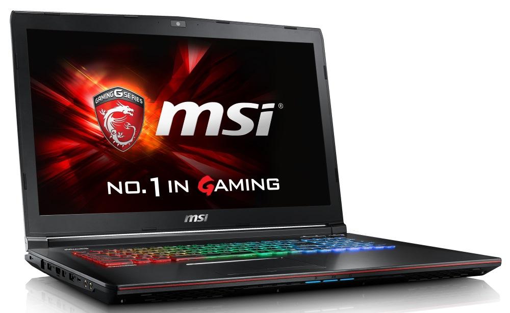 Notebook MSI GE72 6QD-841CZ Apache Pro Notebook, 17,3 FHD, i7-6700HQ, 16 GB DDR4, 256 GB SSD M.2 + 1 TB HDD, GTX960M 2 GB, W10 Home GE72 6QD-841CZ