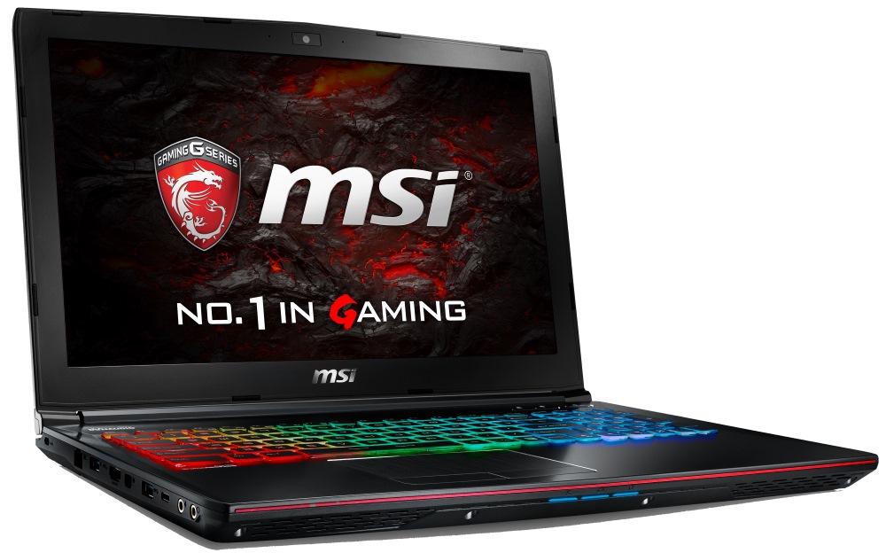 Notebook MSI GE62VR 6RF-094CZ Apache Pro Notebook, 15,6 FHD, i7-6700HQ, 16 GB DDR4, 1 TB, GTX1060 3 GB, W10 Home GE62VR 6RF-094CZ