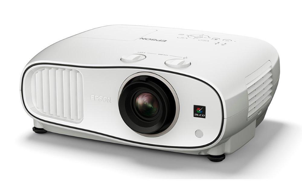 Projektor EPSON Home Cinema EH-TW6700W Projektor, Full HD, 3000 ANSI, 70000:1, 3D, VGA, Wi-Fi, HDMI + Plátno zdarma V11H829040