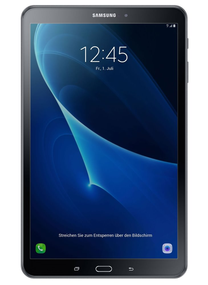 Tablet Samsung Galaxy Tab A SM-T585 Tablet, 2 GB, 16 GB, 10,1, GPS, BT, LTE, Wifi, Android, černý SM-T585NZKAXEZ