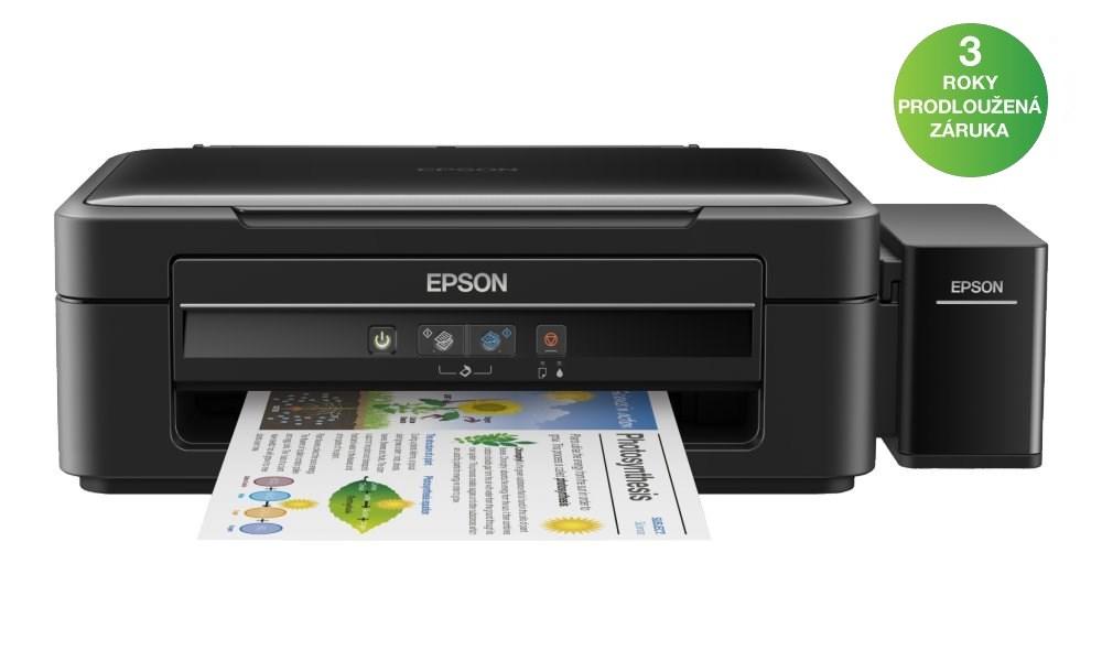 Multifunkční tiskárna Epson L382 Barevná multifunkční inkoustová tiskárna, 5760 x 1440, A4, MFZ, 4 barvy, USB C11CF43402