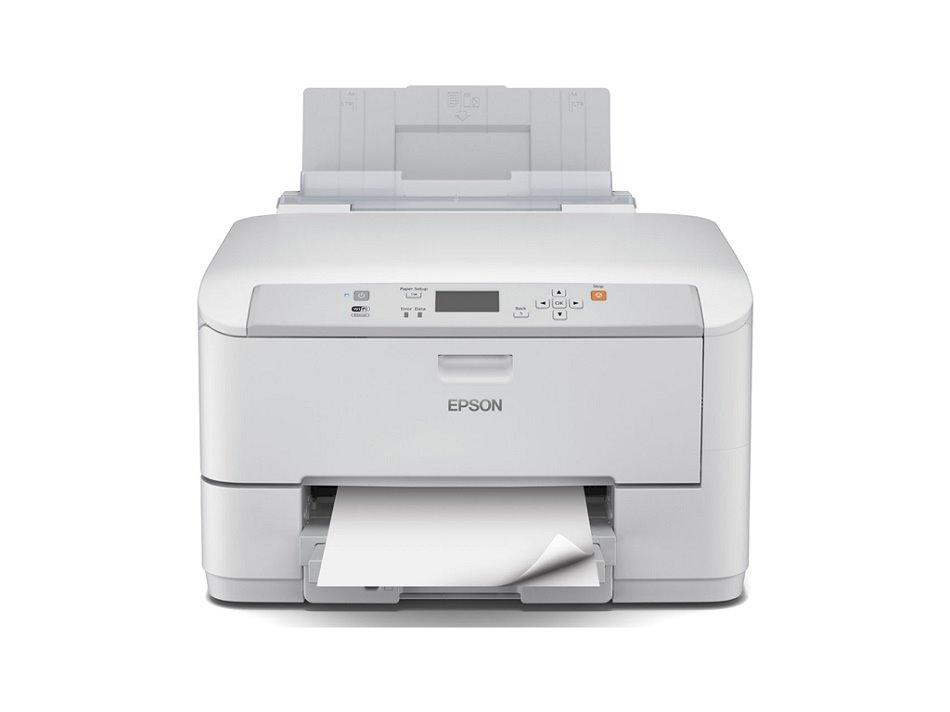 Inkoustová tiskárna EPSON WF-5110DW + Kaspersky Barevná inkoustová tiskárna, A4. Duplex, Wi-Fi, USB + Kaspersky Internet Security multi-device 2016 až 4 zařízení C11CD12301