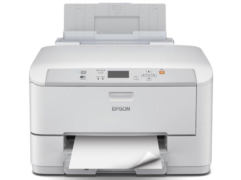 Inkoustová tiskárna EPSON WF-5190DW + Kaspersky Barevná inkoustová tiskárna, A4, Duplex, Wi-Fi, USB + Kaspersky Internet Security multi-device 2016 až 4 zařízení C11CD15301