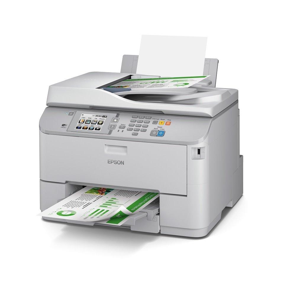 Multifunkční tiskárna EPSON WF-5620DWF + toner Barevná multifunkční inkoustová tiskárna, A4, Duplex, Wi-Fi, USB + černá barva ZDARMA C11CD08301