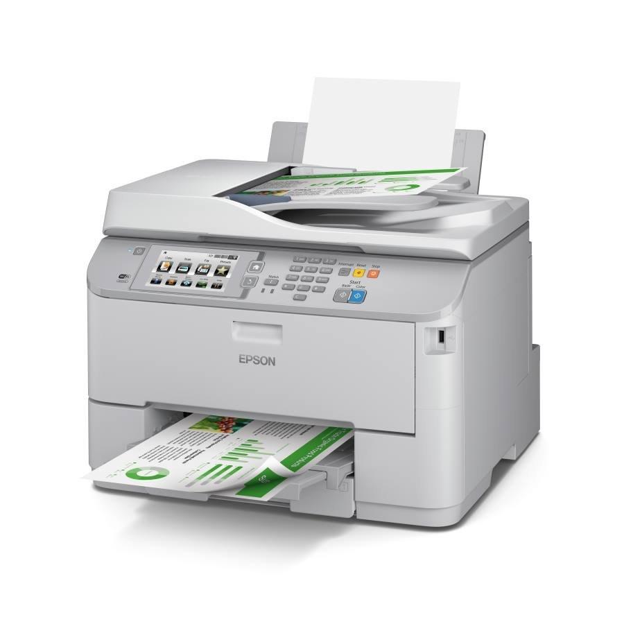 Multifunkční tiskárna EPSON WF-5690DWF + toner Barevná multifunkční inkoustová tiskárna, A4, Duplex, Wi-Fi, USB + černá barva ZDARMA C11CD14301