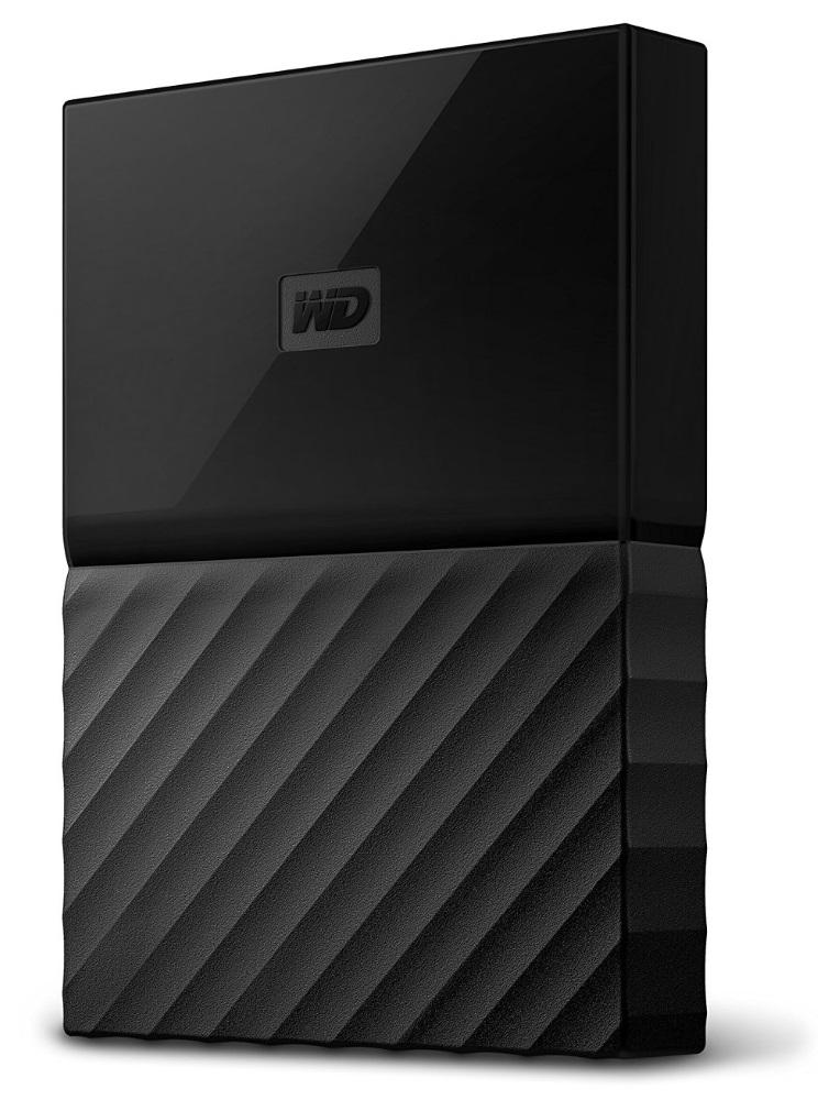Pevný disk WD My Passport 1 TB černý Pevný disk, externí, 1 TB, 2,5, USB 3.0, černý WDBYNN0010BBK-WESN