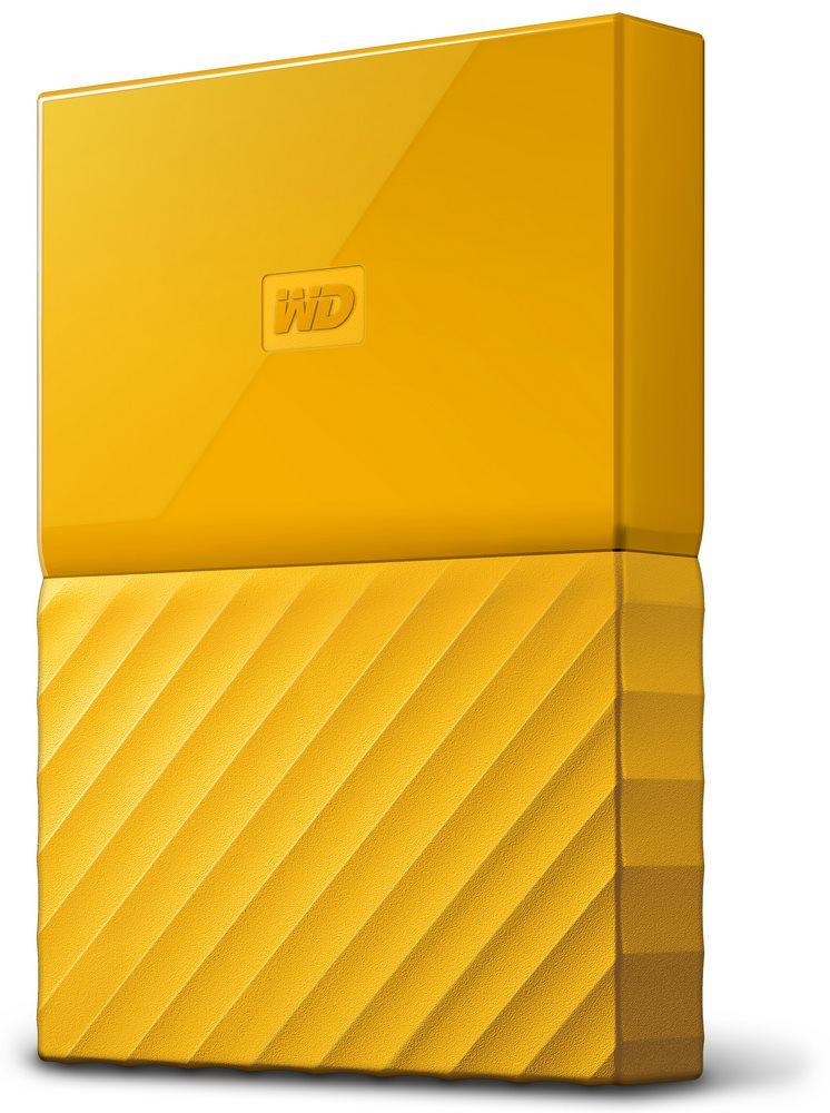 Pevný disk WD My Passport 1 TB žlutý Pevný disk, externí, 1 TB, 2,5, USB 3.0, žlutý WDBYNN0010BYL-WESN