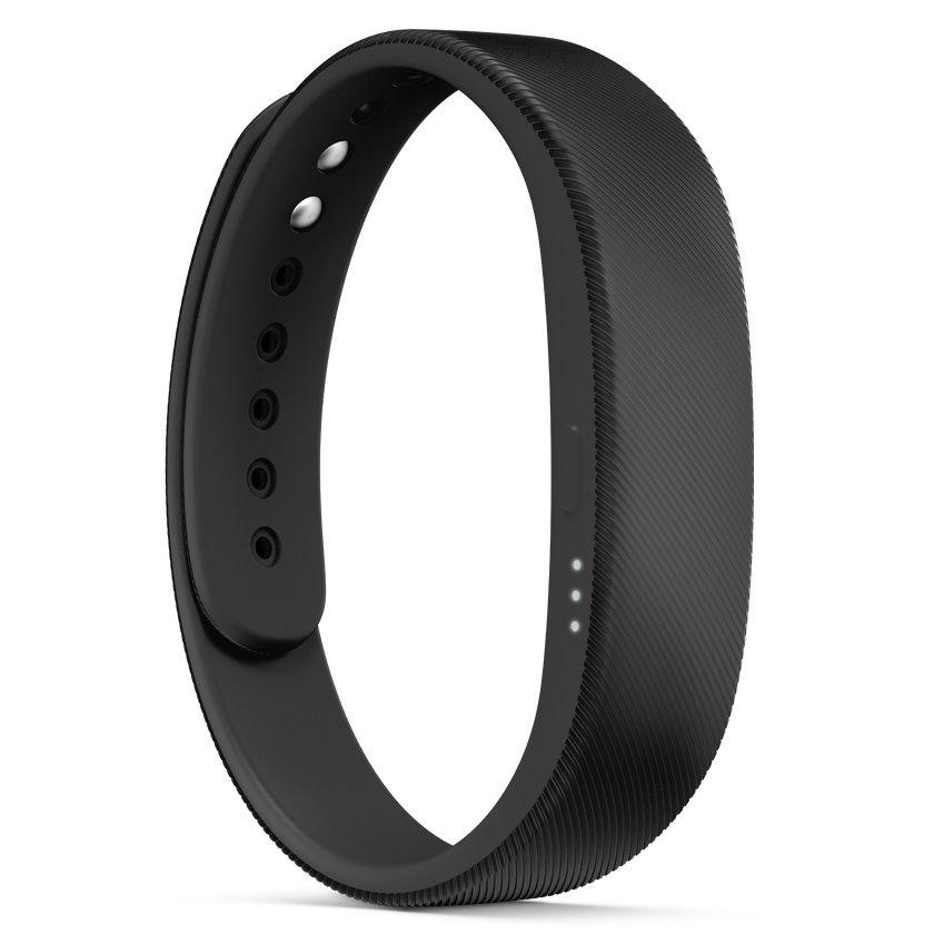 Fitness náramek Sony SmartBand SWR10 černý Fitness náramek, Bluetooth, NFC, IP58, černý 1279-4918