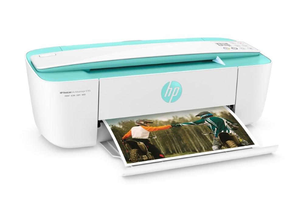 Tiskárna HP AIO Deskjet Ink Advantage 3785 Barevná multifunkční inkoustová tiskárna, A4, 8/5,5ppm, print+scan+copy, USB, Wifi T8W46C