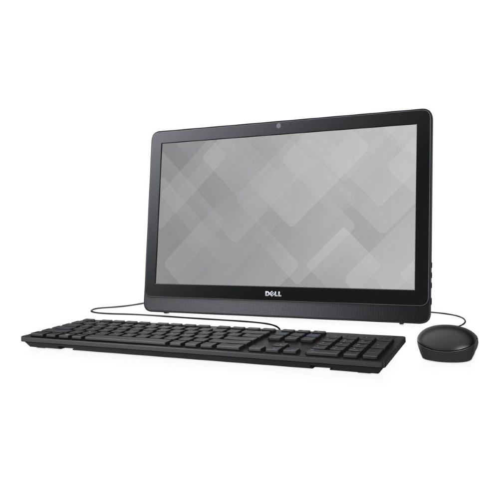 All-in-one počítač DELL Inspiron 22 3000 All-in-one počítač, i3-6100U, 4GB, 1TB, AMD R5 A335 2GB, 21.5 FHD, WiFi, W10, černý, 2YNBD on-site A-3263-N2-311K