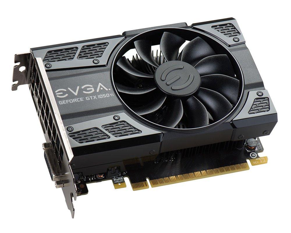 Grafická karta EVGA GeForce GTX 1050Ti GAMING 4 GB Grafická karta, PCI-E, 4096MB GDDR5, DVI-D, HDMI, DP, Active 04G-P4-6251-KR