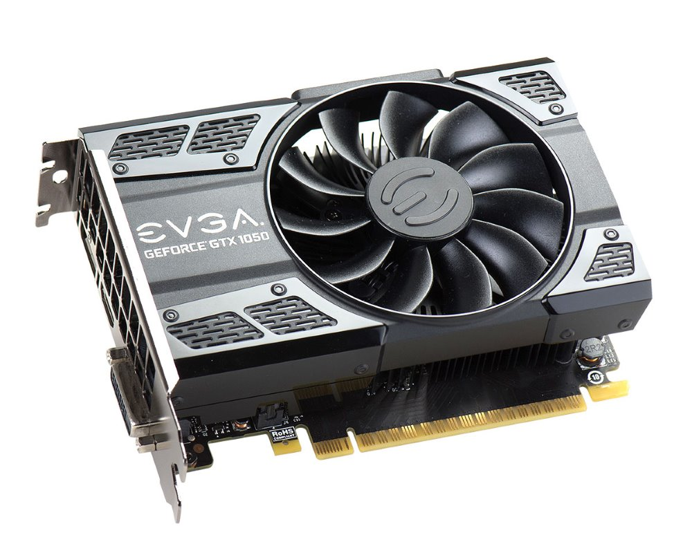 Grafická karta EVGA GeForce GTX 1050Ti SC 4 GB Grafická karta, PCI-E, 4096MB GDDR5, DVI-D, HDMI, DP, Active 04G-P4-6253-KR