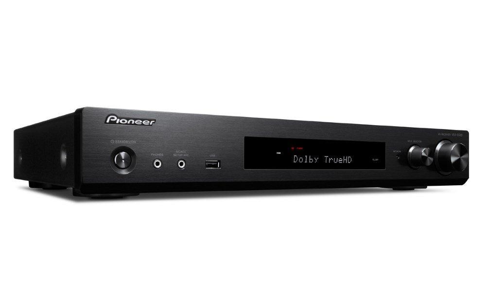 AV přijímač Pioneer VSX-S520D-B černý AV přijímač, 5.1, 80W, černý VSX-S520D-B