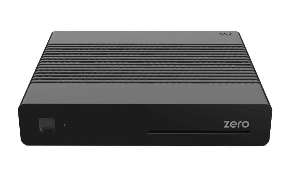 Satelitní příjmač VU+ Zero černý Satelitní příjmač, DVB-S2, HDTV, HbbTV, HDMI, USB, RS-232, LAN, černý DBSVUZE112