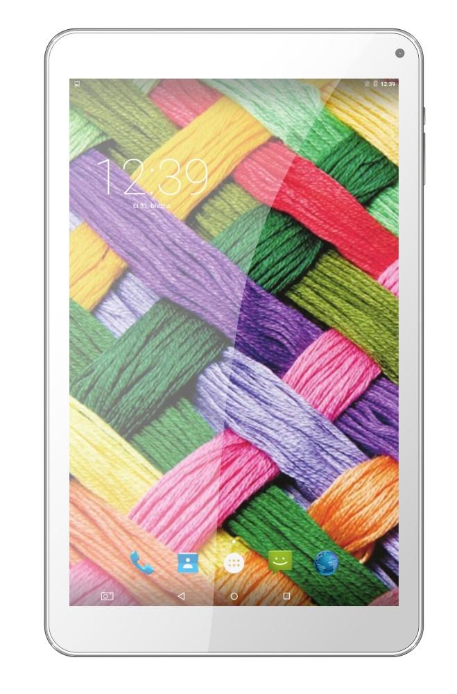 Tablet UMAX VisionBook 10Qi 3G Tablet, 10,1 IPS, 1280x800, 1,5 GB, 16 GB Flash, GPS, micro USB, Android 5.1, bílý UMM200V1I