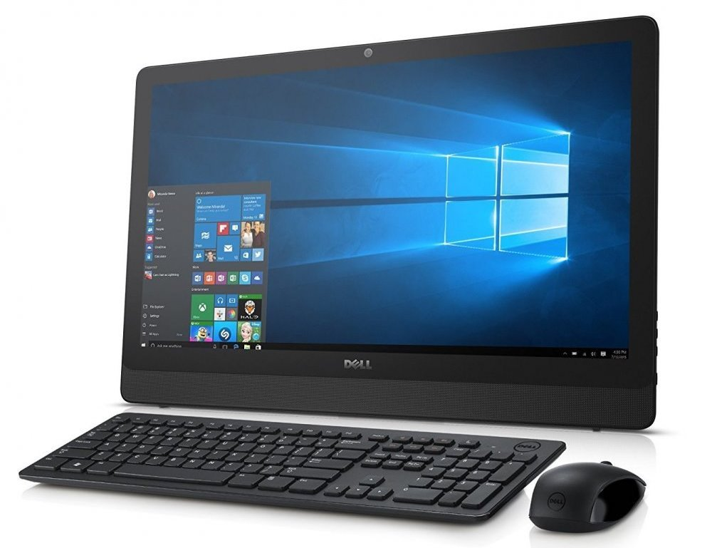 All-in-one počítač DELL Inspiron 24 3000 AIO Touch All-in-one počítač, i5-7200U, 8GB, 1TB, 24 FHD dotykový, DVDRW, WiFi, W10, 2YNBD on-site D-3464-N2-511K