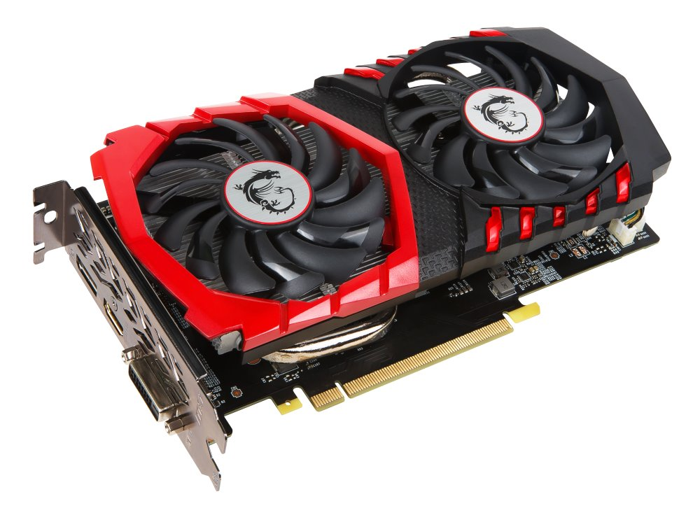 Grafická karta MSI GTX 1050 Ti GAMING X 4G Grafická karta, PCI-E, 4GB GDDR5, DVI, HDMI, DP GeForce GTX 1050 Ti