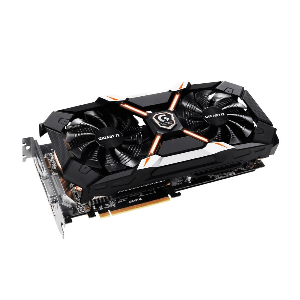 Grafická karta GIGABYTE nVIDIA GeForce GTX1060 6GB Grafická karta, PCI-E, 6GB GDDR5, 3xDP, HDMI, DVI, active Xtreme Gaming GV-N1060XTREME-6GD