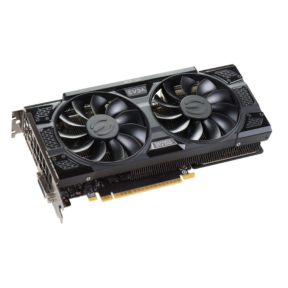 Grafická karta EVGA GeForce GTX 1050 SSC GAMING Grafická karta, PCI-E, 2GB DDR5, DVI-D, DP, HDMI 02G-P4-6154-KR