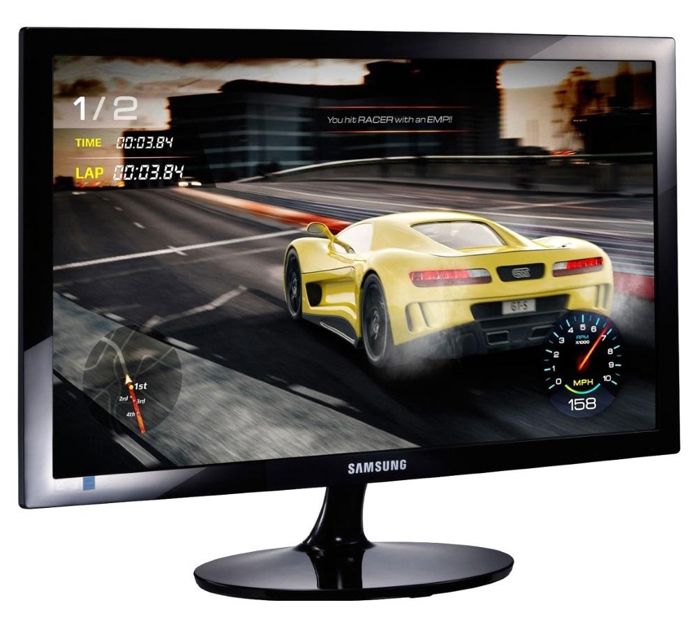 """LED monitor Samsung LS24D330H 24"""" LED monitor, 24"""", FullHD, 1920x1080, 1ms, 16:9, 200cd/m2, D-SUB, HDMI, černá"""