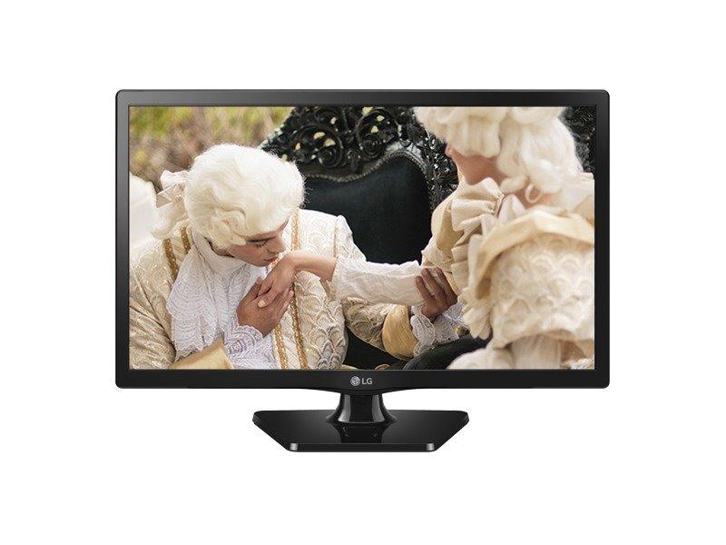 LED monitor LG 24MT47DC 23,6 LED monitor, s TV tunerem, 23,6, VA, 1366x768, 250cd, HDMI, USB, TV tuner, repro, černý - POŠKOZENÝ OBAL MONLG521V