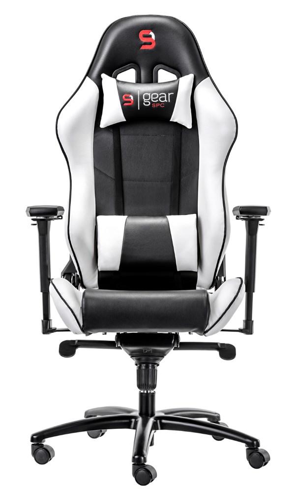 Herní židle SPC Gear SR500 WH