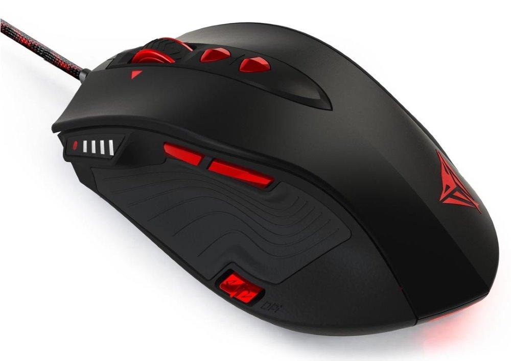 Myš Patriot Viper V560 Myš, herní, drátová, laserová, 12000 dpi, USB