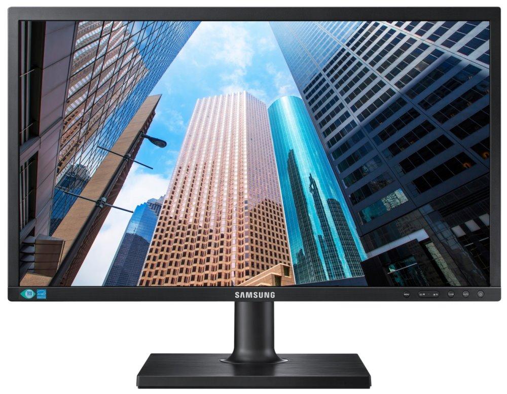 """LED monitor Samsung LS24E45KBSV 24"""" LED monitor, 24"""", FullHD, 1920x1080, TN, matný, 16:9, 5ms, DVI, PIVOT, VESA"""