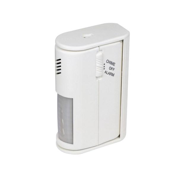 Detektor ELEKTROBOCK LX-AL1 Detektor, snímač pohybu, s alarmem, napájení 9V baterie, úhel snímání 60°, siréna 80dB