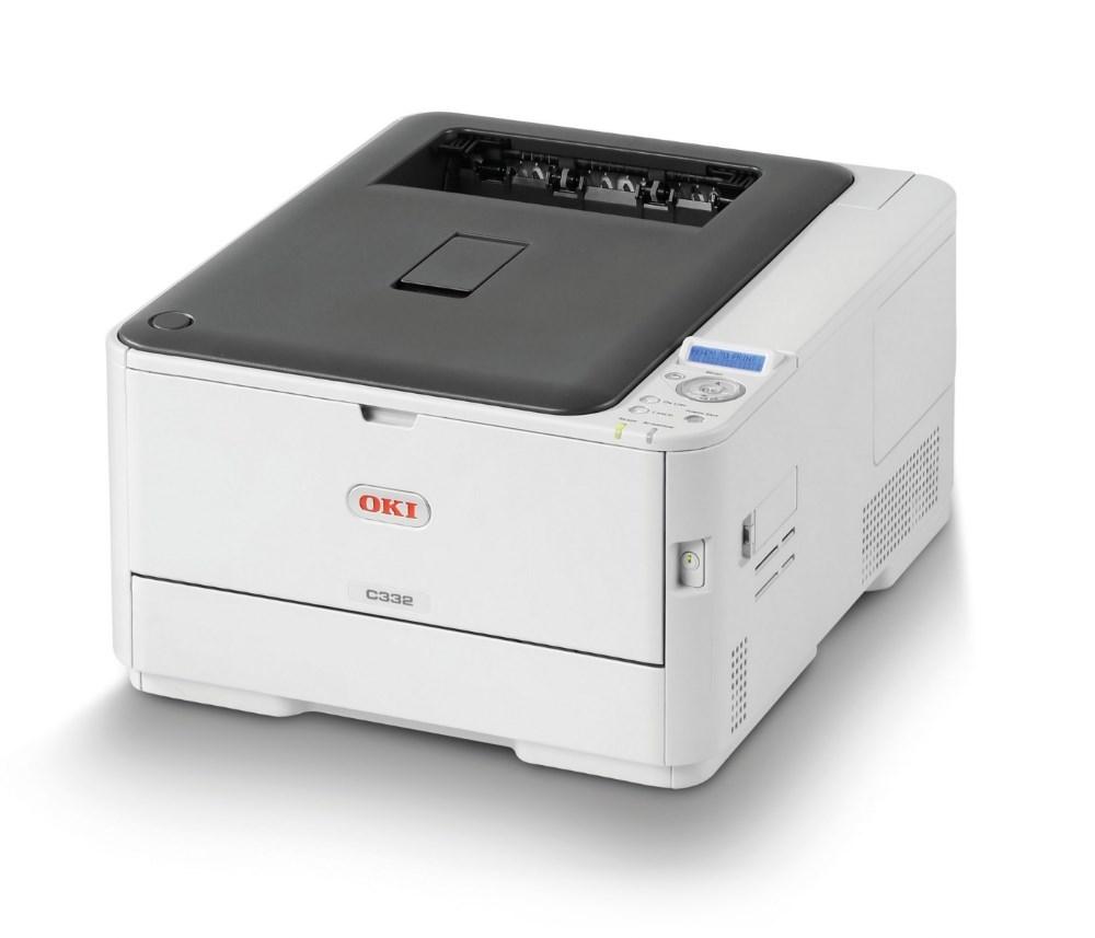 OKI C332dn/ A4/ ProQ2400 dpi/ 30/26ppm/ PCL+PS/ Duplex/ USB/ LAN