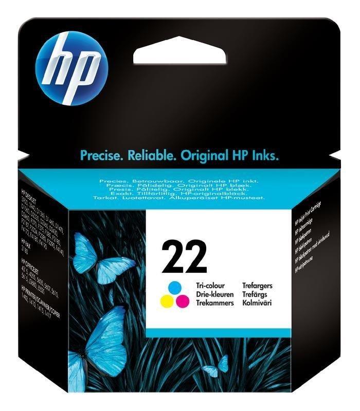 Cartridge inkoustová náplň HP 22 HP C9352AE - ink. barevná, DJ 3920, 3940 C9352AE