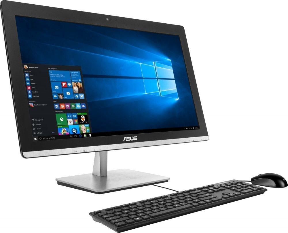 """All-in-one počítač ASUS Vivo AIO V230ICGK-BC094X All-in-one počítač, 23"""" FHD IPS, i5-6400T, 8 GB, 2TB-7200, 930M 2 GB, DVD-RW, WIFI + BT, W10 64bit, černý"""